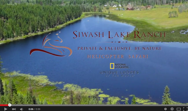Siwash Lake Ranch Helicopter Safari
