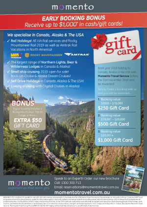 book canada and alaska direct earn gift cards