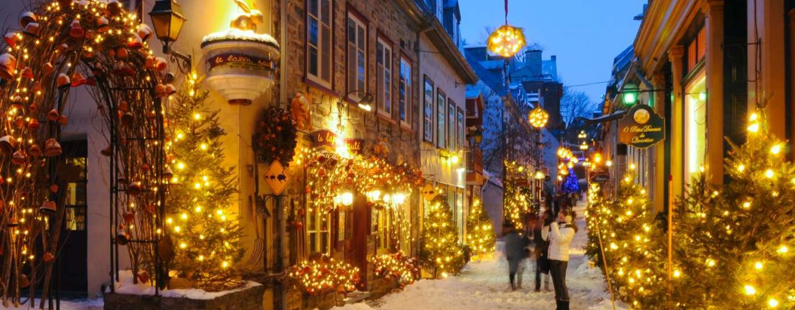 White Christmas packages in Canada for 2019 2020