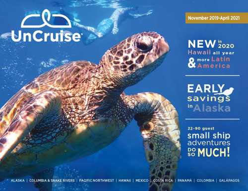 New UnCruise 20-21 brochure out now