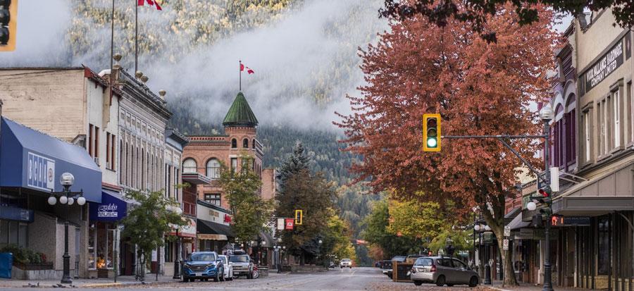Fall British Columbia deals