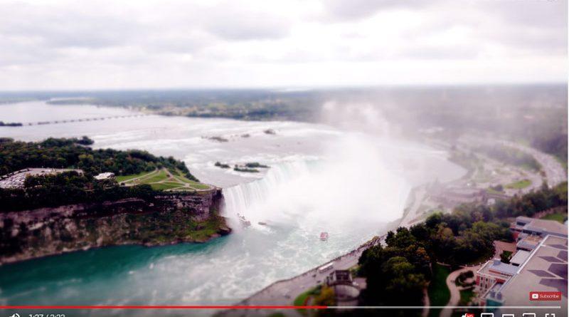 Nano Niagara Falls by Little Big World
