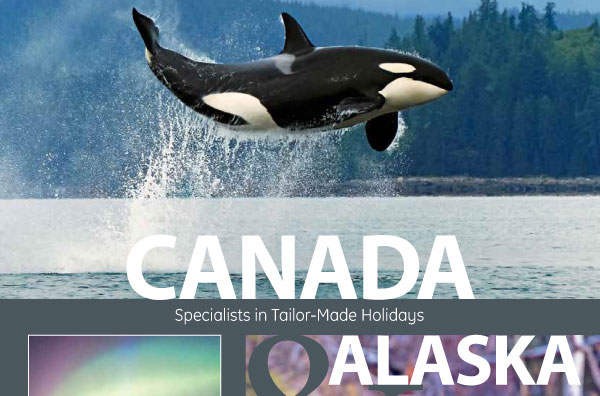 New 160 page Canada and Alaska travel brochure out now
