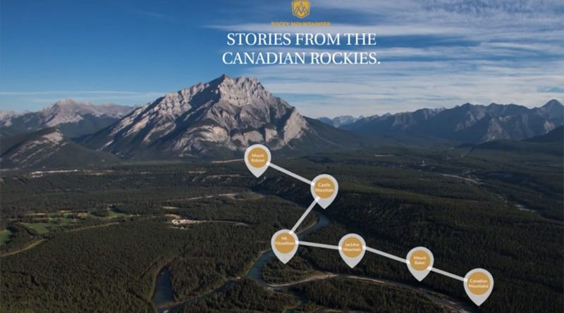Stories from the Canadian Rockies with Rocky Mountaineer